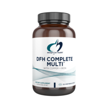 DFH Complete Multi™ with Copper & Iron 120 vegetarian capsules